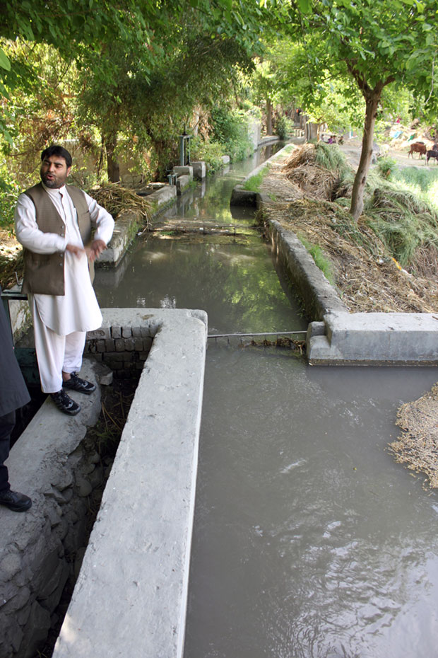 Afghan self-reliance prevails in the countryside