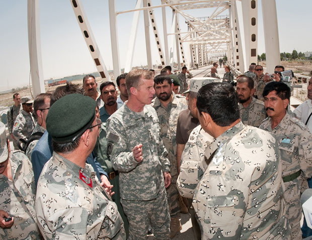 NATO commander rallies sellout neocolonial Afghan troops